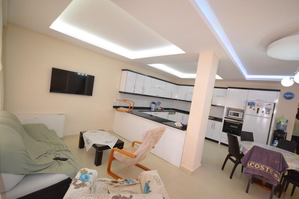 Moderne Schöne Wohnungen Neue Luxus Direkt Am Meer Avsallar Zu